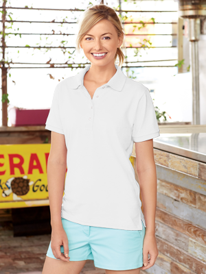Jerzees® Ladies 5.6 Ounce Spotshield™ 50/50 Poly/Cotton Sport Shirt